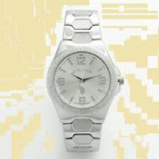 Mens U.S. Polo Assn. Silver Dial Link Watch USC80009