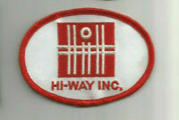 HI-Way Inc. employee advertising patch 2-3/8 X 3-3/8 #3054