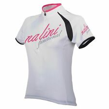 Nalini Siele Womens Short Sleeve Cycling Jersey XL White RRP £58.99