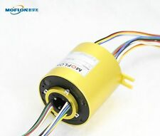 """MT1256 SLIP RINGS WITH BORE SIZE 12.7mm(0.5""""),24 wires/10A each,MOFLON slip ring"""