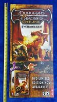 DUNGEONS & DRAGONS STORMREACH Video Game Store Display Sign 2006 ATARI Promo