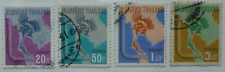 THAILAND 1965 UPU 60th ANNIVERSARY of ADMISSION Set 4v USED