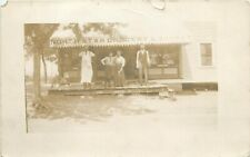 c1910 RPPC Postcard; Northstar Grocery & Market, People out Front, Unknown US