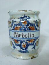 Pot de carolin de la pharmacie MIDY 19ème 8.3cm
