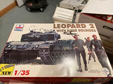 Esci Ertl Model Kit 1/35 Leopard 2-A3 / 2 Russian Bmp 1 model Tanks New 3 models