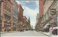 BB-099 St. Paul, Minnesota, Sixth Street Looking East, City Dye House Postcard