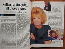 May-1987 TV Guide(ANGIE DICKINSON/POLICE WOMAN/SHELLEY LONG/LINDA EVANS/CANADIAN