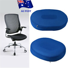 Foam Coccyx Donut Ring Car Chair Seat Cushion Hip Support Pillow Home Office on