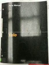Yale Parts Manual for Models OS/SS 030 BB (1468) 7/91.