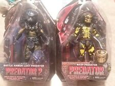 PREDATOR NECA LOT OF 2 BATTLE ARMOR LOST AND WASP SEALED ALIENS VS VERSUS