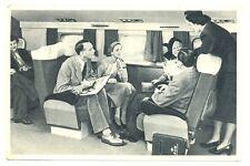 NEDERLAND LUCHTVAART 1950-7-10 SPEC KLM CARD -ON BOARD -   F/VF