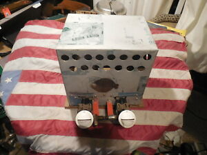 Home Made Portable Propane Heater ice fishing or hunting blind