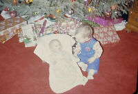 Vintage Photo Slide 1974 Christmas Baby's Presents