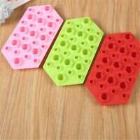 Grid Ice Cube Tray DIY Ice Maker Tools Cholocate Mould Silicone Mold Cool JJ