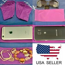 Wholesale 10 Purple Sunglasses Eyeglasses Jewelry Cell Phone Microfiber cases