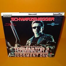 TERMINATOR 2: JUDGEMENT DAY SPECIAL WIDESCREEN EDITION GATEFOLD LASERDISC PAL