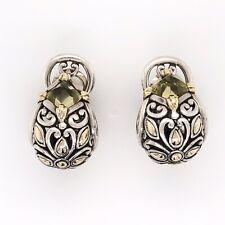 925 & 18K Yellow Gold JOHN HARDY Citrine Earrings