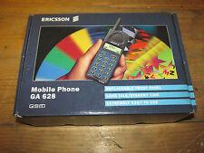 VINTAGE Boxed RETRO Ericsson GA 628 Mobile Phone NOT Working, TOTALLY,GENUINE