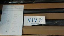 "Vivo tv cart for led lcd & plasma flat panel mobile stand 32"" to 65"" (tv03e)"
