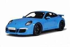 Porsche 991 Carrera 4S blau 1:18 Resin GT-Spirit neu & OVP GT085