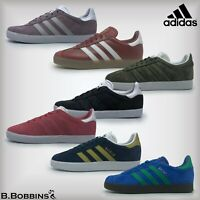 👟 SALE Adidas Original GAZELLE J Trainers Size UK 3 3.5 4 4.5 Boys Girls Ladies