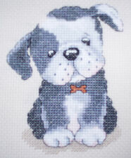 KL88 Bruce! Chiot Cross Stitch Kit Par Genny Haines de goldleaf Needlework