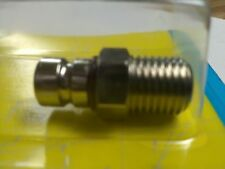 """Marine Fuel Line Connector Chrysler/Force, Male 1/4"""" NPT Threads"""
