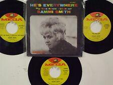 LOT OF 4 ' SAMMI SMITH  ' HIT 45's+1PS(Copy)     THE 70's!