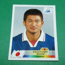 N°531 KAZUYOSHI MIURA JAPON JAPAN PANINI FOOTBALL FRANCE 98 1998 COUPE MONDE WM
