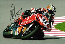 Troy Corser IN PERSON SIGNED Autograph 12x8 Photo AFTAL COA WSB World Champion