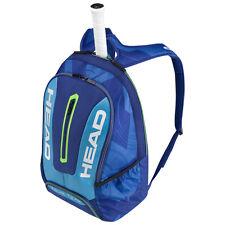 HEAD TOUR TEAM BACKPACK BLUE/ BLUE IDEAL FOR TENNIS SQUASH BADMINTON OR TRAVEL