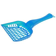 12 X Translucent Cat Litter Scoop Plastic Plain Spoon Waste Scooper Poop Shovel