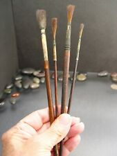 New listing Vintage Sign Painting Lettering Brushes Lot of 4