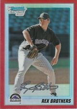 2010 Bowman Chrome Prospects Red Refractor Rex Brothers 1/5