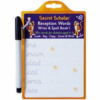 Secret Scholar Reception Handwriting Practice Pad - Children's Write and Spell