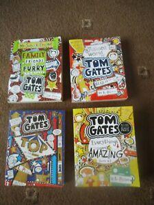 TOM GATES ~ L PICHON  4 x PB Book FAMILY FRIENDS, BRILLIANT, CLASS & AMAZING