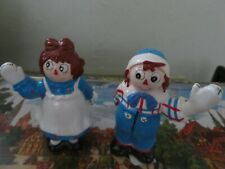 Macmillan Raggedy Ann and Andy salt and pepper shakers