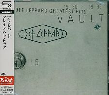 DEF LEPPARD VAULT GREATEST HITS 2012 JAPAN RMST SHM HIGH FIDELITY FORMAT CD+2