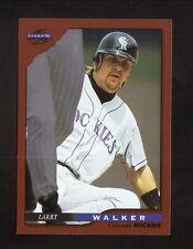 Larry Walker--1996 Score Dugout Collection Baseball Card--Colorado Rockies