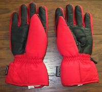 27b758775f44 REUSCH Men s L Hydro-Dry Thinsulate Thermal Snowboard Ski Gloves Nylon  Leather