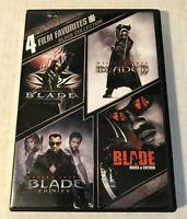 4 DVD Films: Blade Collection [Blade / Blade II / Blade: Trinity / Blade: House