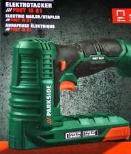 PARKSIDE Elektrotacker PHET 15 B1 Elektronagler Tacker Nagler inkl. Zubehör NEU