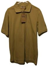Camel Active Polo Shirt Mens XL Brown Embroidered New With Tags