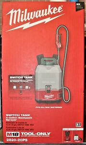 Milwaukee 2820-20PS 18V 4-Gal Switch Tank Backpack Sprayer - TOOL ONLY