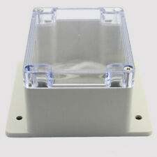 Waterproof Case Clear Cover Plastic DIY Electronic Project Box W/ 4 Screws