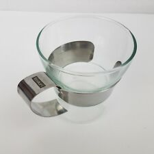 BODUM Assam Glass Mug with Stainless Steel Handle
