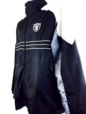 Vintage Oakland Raiders Windbreaker Jacket NFL Football Streetwear Vegas 90s L