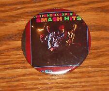 "Jimi Hendrix Experience Smash Hits 80s Pin 2 1/4"""