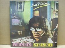 VASCO ROSSI - BOLLICINE - LP - 33 RPM - CAROSELLO 1983
