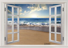Polyester backdrops Beach Scenery photography prop Studio background 7X5FT ZZ695